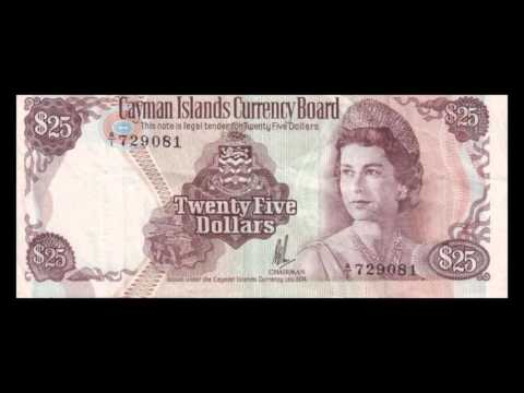 All Cayman Islands Dollar Banknotes - 1974 Currency Law Issue