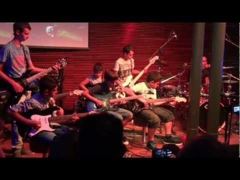 The Rainmaker by Earl Klugh - Kyriakides School of Music, Guitar Ensemble