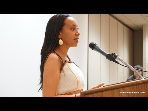 Haben Girma speech at the 4th Keren High School Reunion in Los Angeles