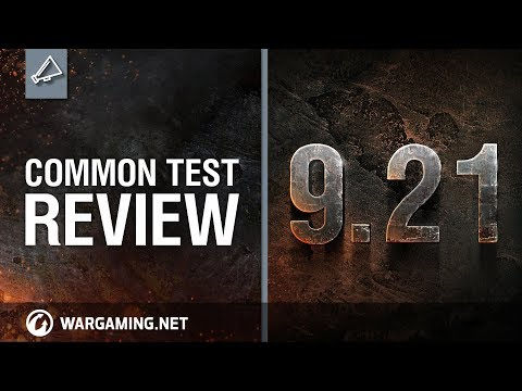 PC: World of Tanks - Common Test Review 9.21