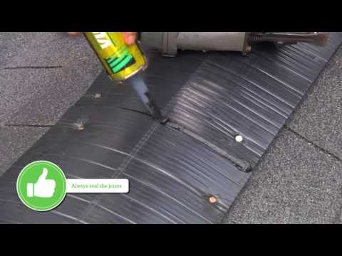 Installing Ridge Vent End Caps Quarrix Building Products Youtube