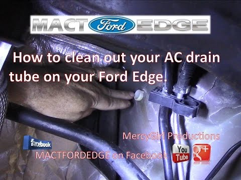 how-to-clean-out-your-ac-drain-tube-on-your-ford-edge