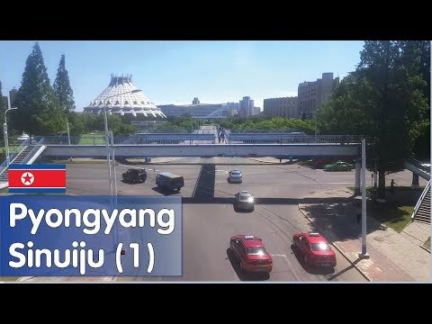 PYONGYANG/SINUIJU Train (June 2017) - PART 1
