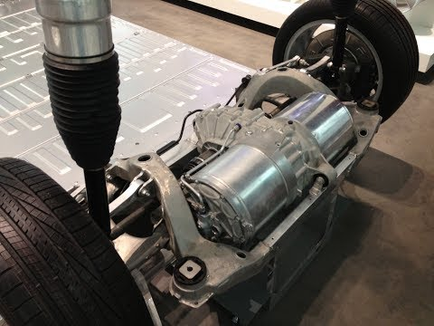 Tesla Model S P85 Drive Unit Fluid Service
