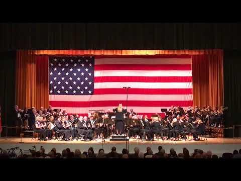 Ventura County Concert Band Veterans Day 2017 pt.1