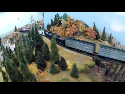 Amazing Detailed Model Train Set