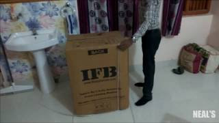 unboxing and review of ifb 6 kg diva aqua vx front loading washing machine   flipkart purchase