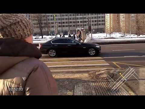 Переход через Ленинский проспект