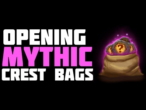 Castle Clash: Opening Mythic Crest Bags
