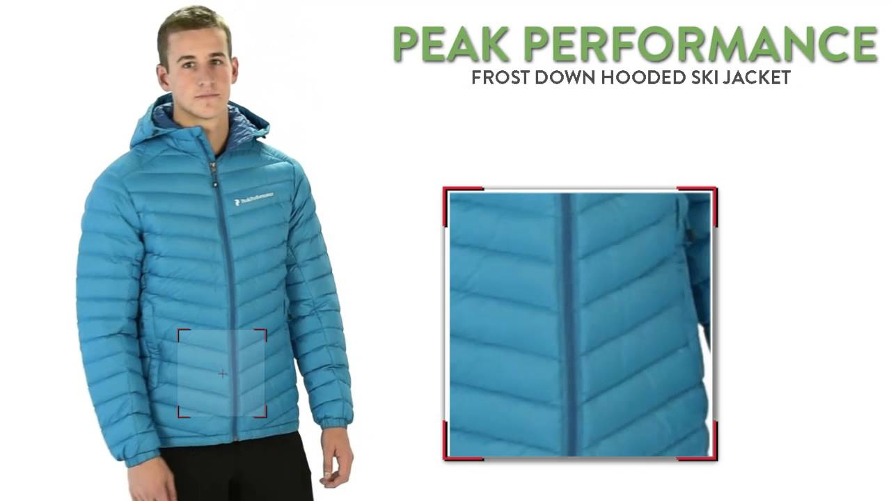 8ef6a09cabb Peak Performance Frost Down Hooded Ski Jacket - 700 Fill Power, ThermoCool®  (For Men)