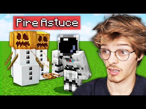 Je teste les PIRES ASTUCES de Minecraft... (elles sont fun quand même)