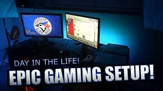 ULTIMATE GAMING ROOM TOUR / DAY IN THE LIFE