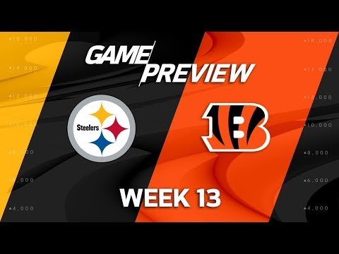 Pittsburgh Steelers vs. Cincinnati Bengals | NFL Week 13 Game Preview | NFL Playbook