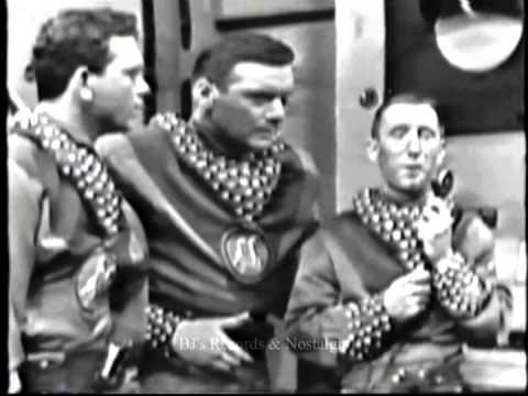 TOM CORBETT SPACE CADET.  1955 Episode - Monster of Space.  Early Children's Sci-Fi Show.