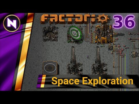 Factorio 0 17 Space Exploration #36 NUCLEAR POWER - Самые лучшие видео