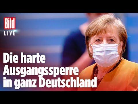 🔴 Corona-Notbremse: Diese Lockdown-Regeln will Merkel jetzt durchsetzen   BILD LIVE