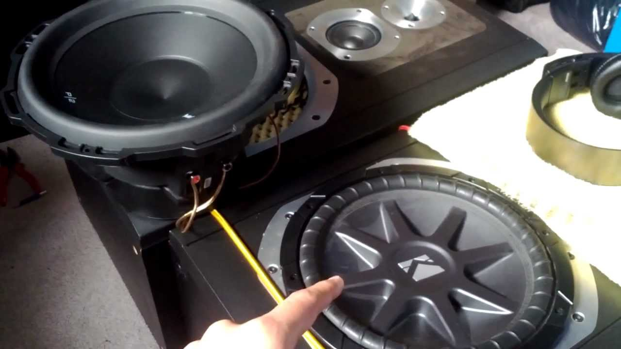 how to wire 2 dual voice coils subs to a 2 ohm impedence load youtube [ 1280 x 720 Pixel ]