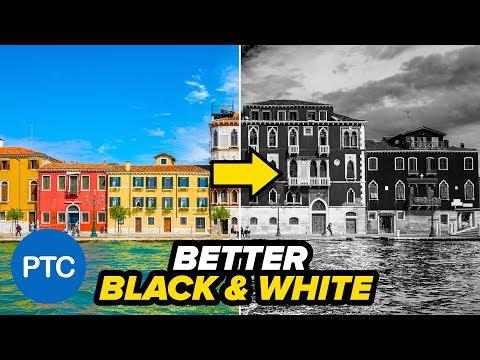 Photoshop:  Làm thế nào để hình ảnh BLACK và WHITE - Hai Kỹ thuật Chuyển đổi dễ dàng