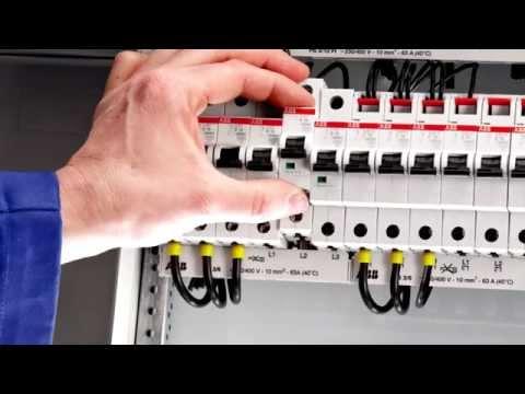Модульные автоматические выключатели ABB S200, SH200. Краткий видеокурс