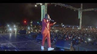 Mbosso live perfomance Hodari  Dar es salaam wasafi festival 2019