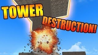 TOWER DESTRUCTION! | ROBLOX: Rovive