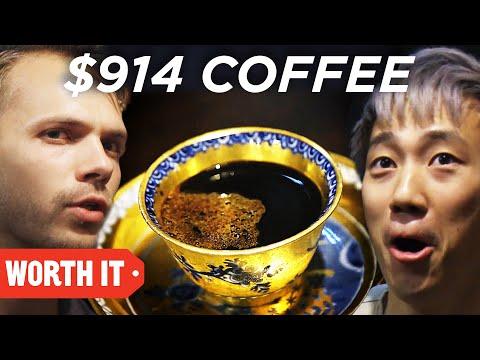 $1 Coffee Vs. $914 Coffee