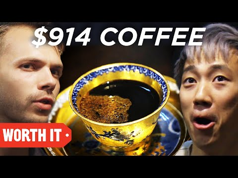 Thumbnail: $1 Coffee Vs. $914 Coffee