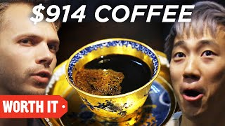 Video $1 Coffee Vs. $914 Coffee • Japan download MP3, 3GP, MP4, WEBM, AVI, FLV Februari 2018