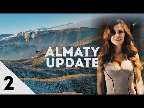 Almaty Update: Модель из рекламы Chocotravel. Полет на параплане. Стрельба из лука. Коктейли в Киану