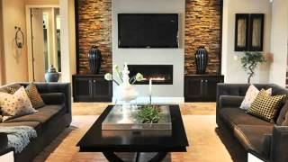 Paint Ideas Living Room Brick Fireplace