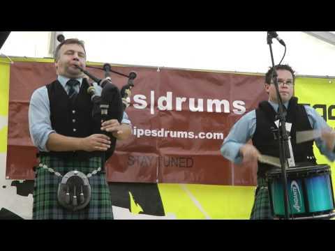 Stuart Liddell & Steve McWhirter (2 of 3) - Piping Live 2011