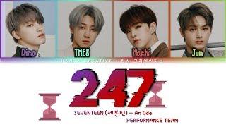 SEVENTEEN (세븐틴) - & 39;247& 39; Lyrics Color Coded (Han/Rom/Eng)
