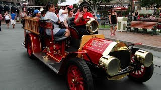 Main Street Fire Engine On Ride HD POV Disneyland Resort