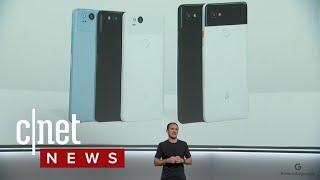 Google unveils Pixel 2 and Pixel 2 XL (CNET News)