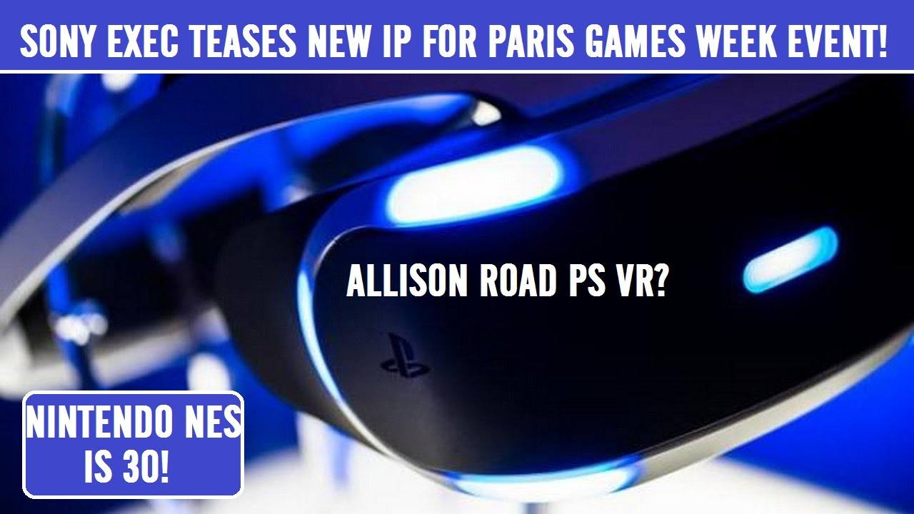 sony investing tons into ps vr games allison road ps4. Black Bedroom Furniture Sets. Home Design Ideas