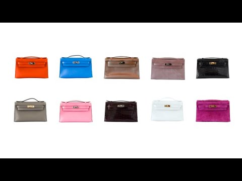 1f52af0700ed MIGHTYCHIC • Hermes Kelly Pochette Collection - YouTube