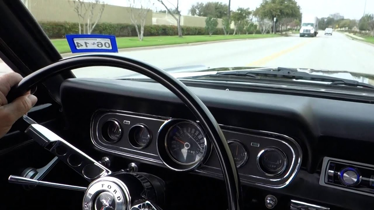 1966 ford mustang 289 v8 classic coupe cruisin 39 youtube. Black Bedroom Furniture Sets. Home Design Ideas