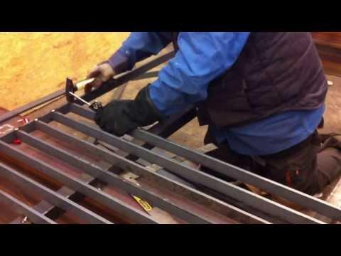 Fabrication fence Walter Steel London
