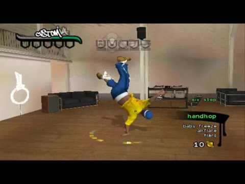 B-Boy: Gameplay for PSP [HQ and PROFESSIONAL RECORD from PSP]