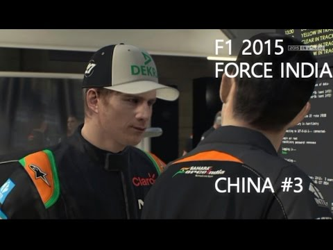 F1 2015 Live PC | GP CHINA Shanghai | Force India Hulkenberg