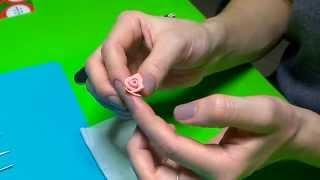 Розочки из полимерной глины. Мастер-класс !!!(Видео урок о том, как сделать розы из полимерной глины/пластики. Просмотрев ролик, вы научитесь делать краси..., 2015-02-07T22:21:04.000Z)