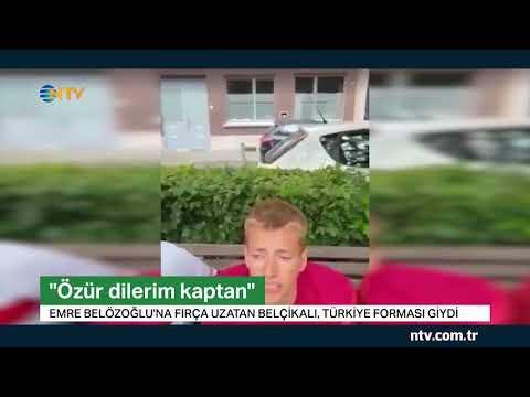 Fırça uzatan Belçikalı özür diledi, Türkiye forması giydi
