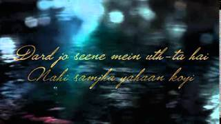 Naam   E   Wafa Full Song Lyrics   Creature 3D   Farhan Saeed, Tulsi Kumar   Bipasha Basu   YouTube