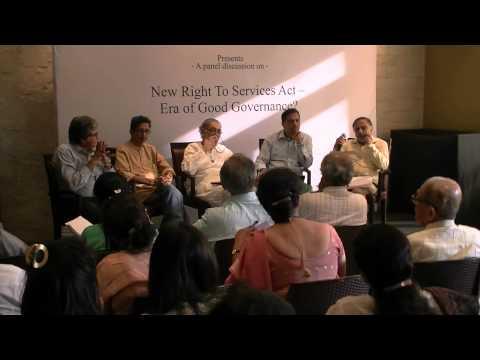 Maharashtra RTS   an open forum at the Press Club 11 Feb 15 Part 2