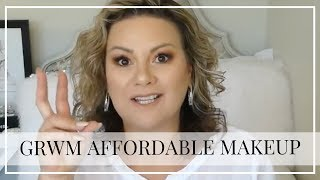 GRWM using some of my more affordable makeup - mature