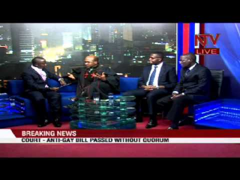 Live debate on court's ruling on the anti homosexuality bill