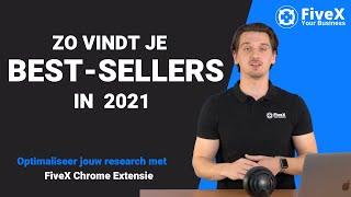 Vind bestsellers op bol.com in 2021 met de chrome extensie van FiveX - Product Research screenshot 2