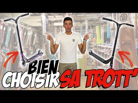 Comment choisir sa trottinette Freestyle