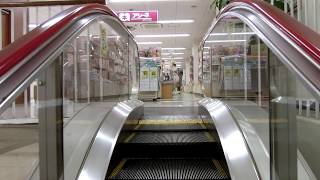 イオン大月店のエスカレーター(日立製)