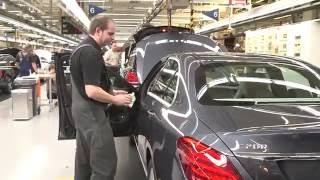 Как собирают Mercedes Benz в Германии. Сборка, покраска, линия сборки